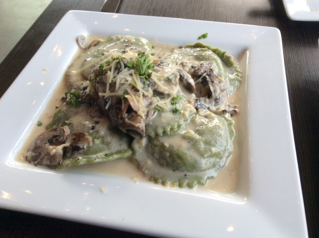 Chicken and Mushroom Ravioli